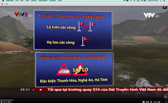 Cảnh báo mưa lũ, lũ quét, sạt lở đất ở Bắc miền Trung