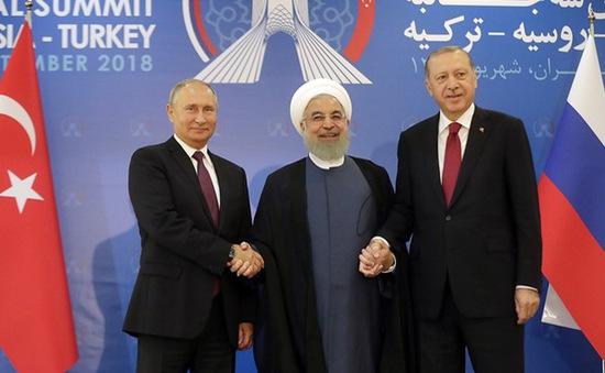 Lãnh đạo Nga, Iran, Thổ Nhĩ Kỳ họp thượng đỉnh