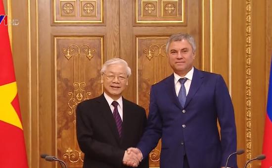 Tăng cường quan hệ hợp tác trên tất cả các lĩnh vực giữa Liên bang Nga và Việt Nam