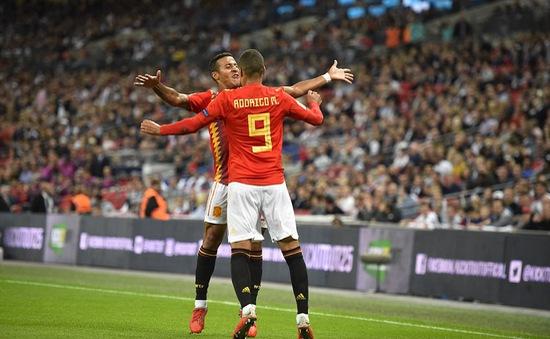 Kết quả bóng đá UEFA Nations League, rạng sáng 9/9: Tây Ban Nha thắng Anh, Thuỵ Sĩ thắng đậm Iceland