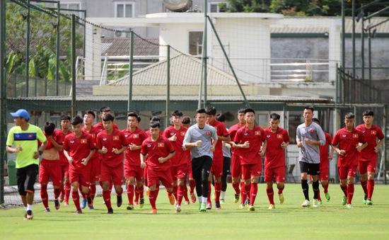 ĐT U17 Việt Nam hội quân, chuẩn bị tham dự Jenesys 2018