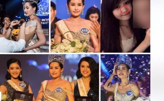 Đề nghị thu hồi vương miện Hoa hậu Đại dương 2017