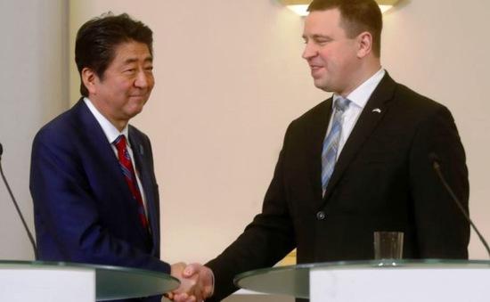 Nhật Bản thúc đẩy hợp tác với Estonia