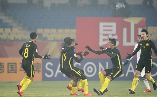 Kết quả, BXH bảng C VCK U23 châu Á ngày 16/1: U23 Ả-rập-xê-út 0-1 U23 Malaysia, U23 Iraq 1-0 U23 Jordan