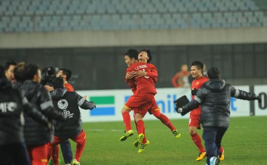 Ảnh: Nhìn lại những khoảnh khắc ấn tượng, tự hào trong chiến thắng lịch sử của U23 Việt Nam trước U23 Iraq