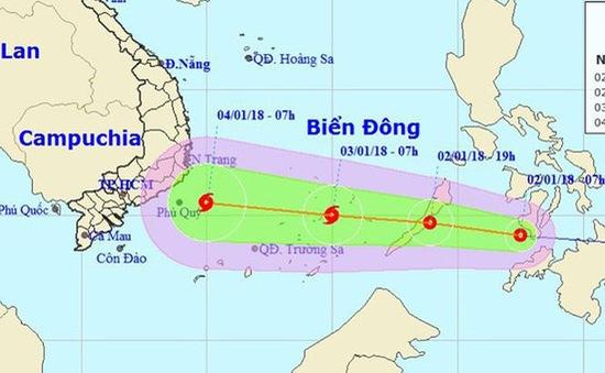 Các tỉnh, TP ven biển từ Đà Nẵng đến Kiên Giang chủ động ứng phó với áp thấp nhiệt đới