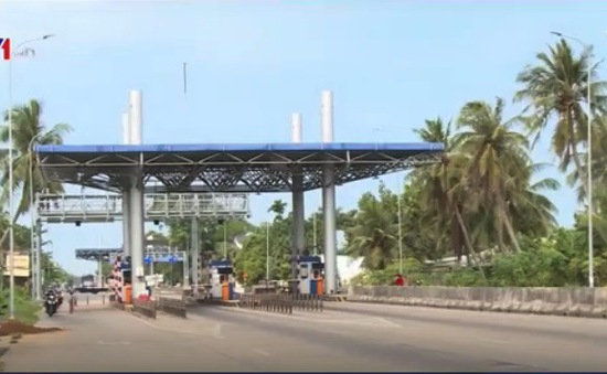 Giao thông tại trạm BOT Cần Thơ - An Giang đã bớt căng thẳng