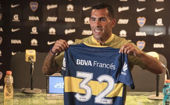Chia tay bóng đá Trung Quốc, Tevez mừng ra mặt ngày trở về