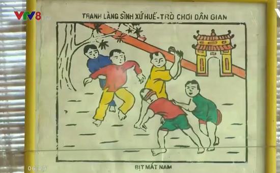 Độc đáo tranh làng Sình xứ Huế
