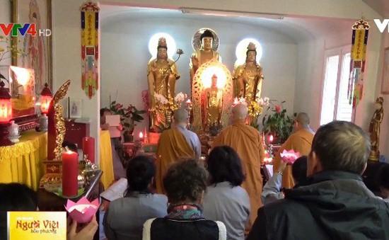 Đại lễ vía Phật A Di Đà tại chùa Tịnh Độ (Pháp)
