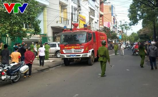 Đắk Lắk: Kịp thời dập tắt đám cháy nhà 3 tầng tại thành phố Buôn Ma Thuột