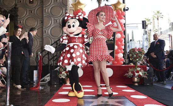 Chuột Minnie được vinh danh trên Đại lộ Danh Vọng