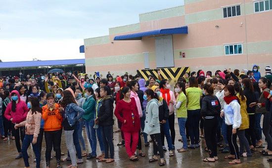 Quảng Nam: Gần 2000 công nhân nghỉ việc tập thể đã đi làm trở lại