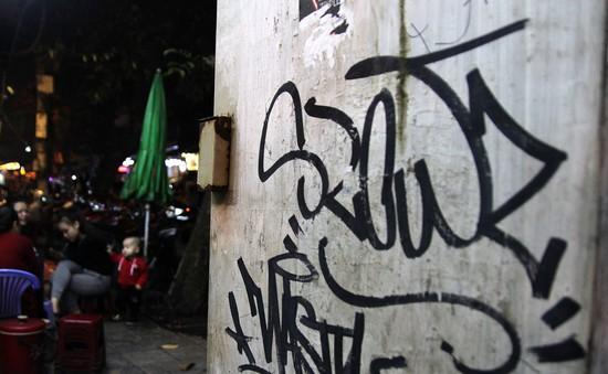 """Café sáng với VTV3: Graffiti - Ranh giới mong manh giữa nghệ thuật và """"vẽ bậy"""""""