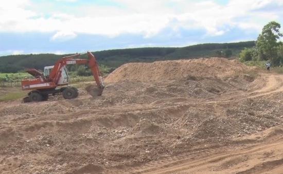 Phức tạp tình trạng khai thác khoáng sản trái phép ở Kon Tum