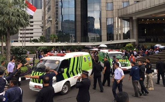 Sập một phần tòa nhà Sở Giao dịch Chứng khoán Indonesia làm hàng chục người bị thương
