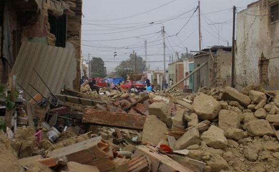 Trên 80 người thương vong và mất tích sau trận động đất mạnh tại Peru