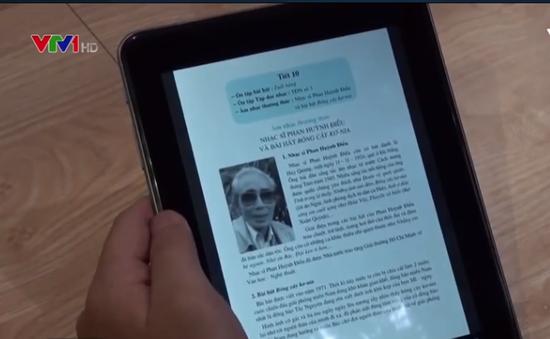 Sách điện tử suy giảm nghiêm trọng