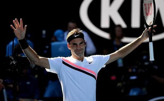Federer nhẹ nhàng vào tứ kết Australia mở rộng 2018
