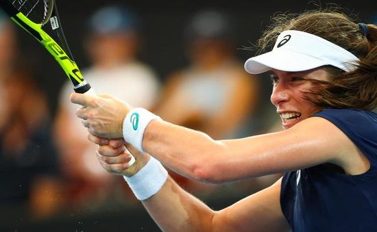 Johanna Konta giành quyền vào tứ kết Brisbane International
