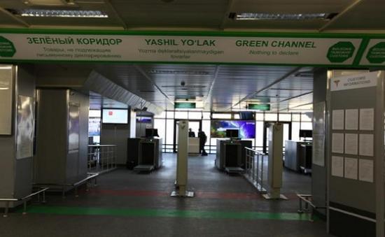 Đưa vào hoạt động hệ thống hành lang kép tại sân bay quốc tế Uzbekistan