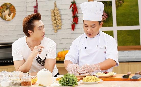 """Hồ Việt Trung trổ tài hát cải lương cực ngọt trong """"Tuyệt chiêu ẩm thực"""""""