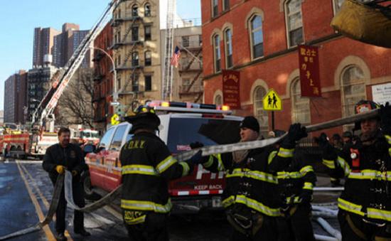 Mỹ: Liên tiếp xảy ra 2 vụ hỏa hoạn tại New York