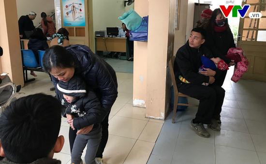 Hòa Bình: Nhiệt độ hạ sâu, y tế cơ sở quá tải bệnh nhân