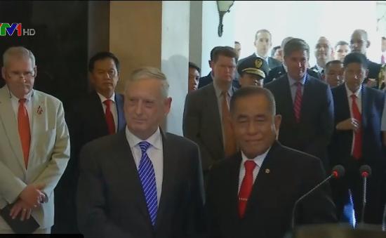 Mỹ - Indonesia tăng cường hợp tác quốc phòng