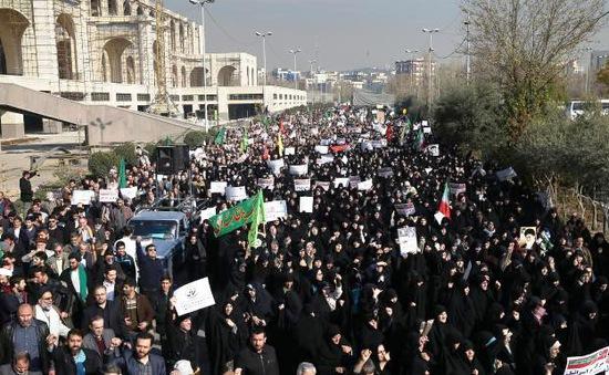 Iran cáo buộc kẻ thù kích động biểu tình