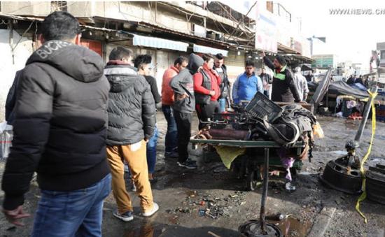 Iraq: Đánh bom kép tại Baghdad, ít nhất 27 người thiệt mạng