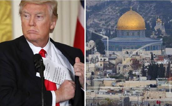 Palestine lên án Mỹ đơn phương công nhận Jerusalem là thủ đô của Israel