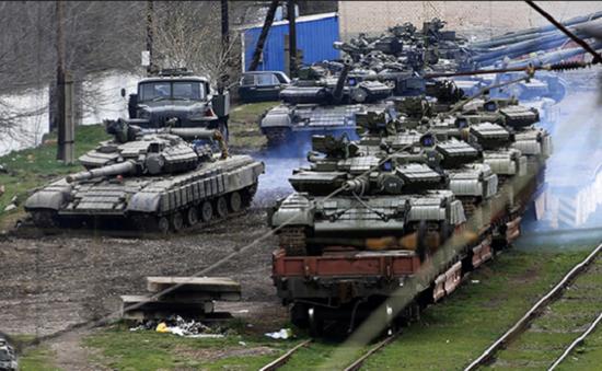 Nga sẵn sàng trả lại Ukraine khí tài quân sự trên bán đảo Crimea