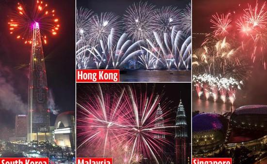 Hàng loạt hoạt động chào mừng năm mới 2018 tại châu Á