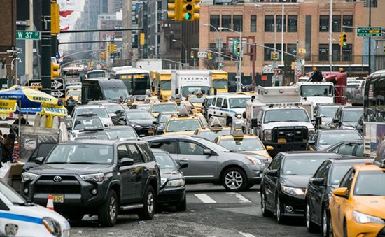 New York (Mỹ) dự định thu phí xe ô tô đi vào trung tâm thành phố