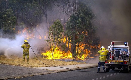Nắng nóng trên 40 độ C gây hỏa hoạn nhiều nơi tại Australia