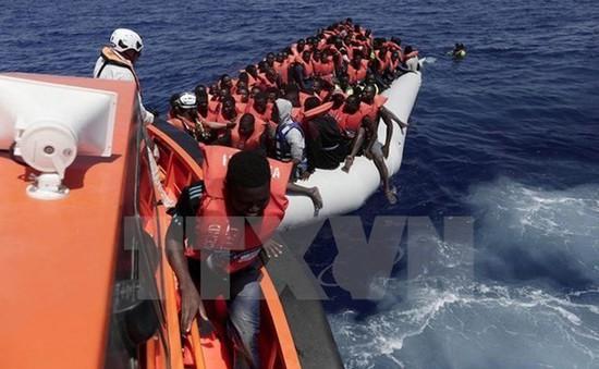 Libya giải cứu hàng trăm người di cư