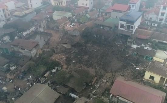 Điều tra nguyên nhân vụ nổ lớn tại Văn Môn (Bắc Ninh) khiến 12 người thương vong