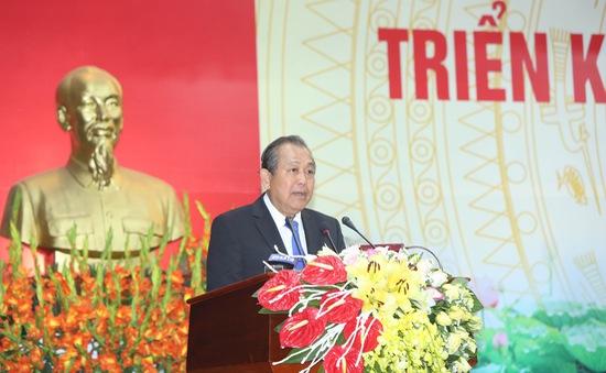 Phó Thủ tướng Thường trực Trương Hoà Bình: Ngành Nội vụ cần tiếp tục sắp xếp bộ máy, tinh giản biên chế