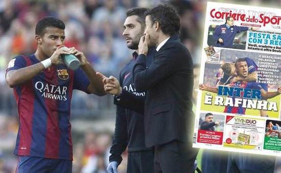 HLV Luis Enrique khuyên trò cũ chia tay Barcelona tới Inter