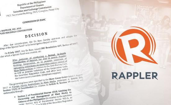 Trang tin tức Philippines bị tước giấy phép