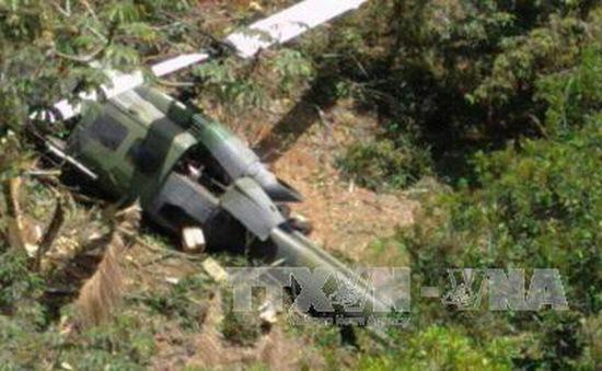 Rơi máy bay quân sự tại Colombia, ít nhất 7 người thiệt mạng