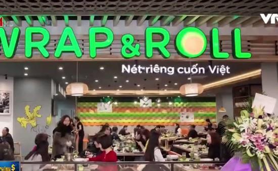 Chuỗi Wrap&Roll nhượng quyền thương hiệu ra nước ngoài