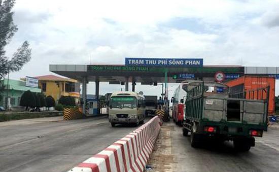 Bắt đầu giảm phí qua trạm BOT Sông Phan (Bình Thuận)
