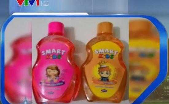 Đình chỉ lưu hành, thu hồi nước súc miệng trẻ em Smart Kids