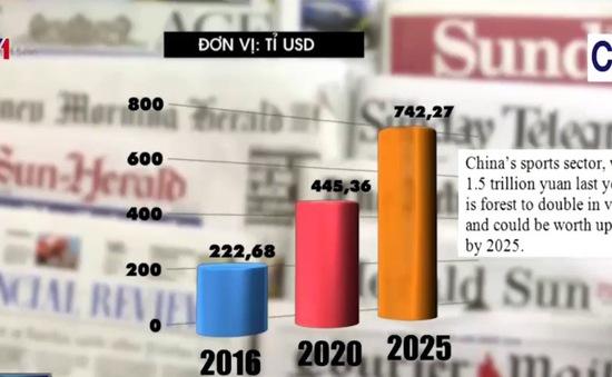 Thị trường thể thao tại Trung Quốc sẽ phát triển mạnh trong những năm tới