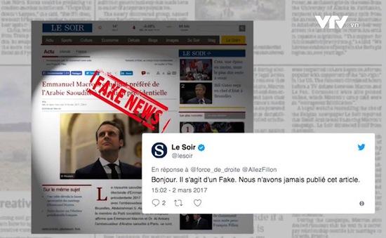 Pháp sẽ ra luật chống tung tin thất thiệt
