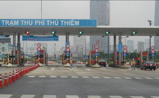 TP.HCM bắt đầu tháo dỡ trạm thu phí trước hầm Thủ Thiêm