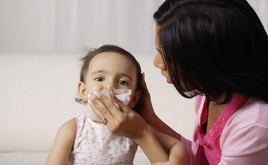 Phòng cúm mùa ở trẻ em