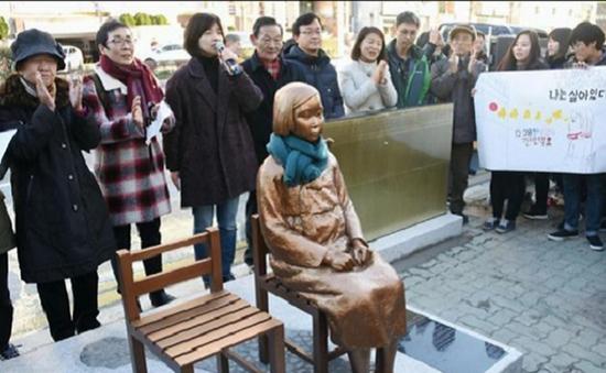 """Hàn Quốc không đàm phán lại về vấn đề """"phụ nữ mua vui"""""""